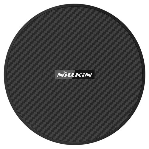 15W Nillkin PowerFlash Qi Fast Wireless Charger Pad - Carbon Fibre